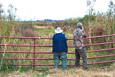 David & Jeff Photographing a Hawk