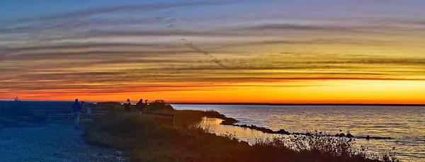 Loyd Dalton & David Holland Photographing the Sunrise