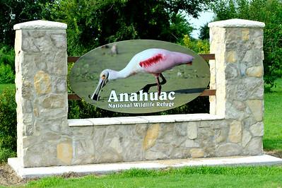 Anahuac NWR Entrance Sign