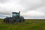 Blue Tractor by Anahuac