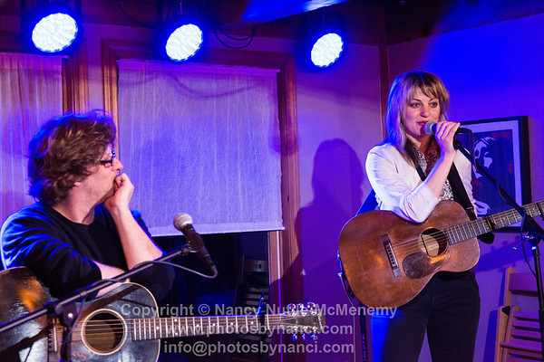 Anais Mitchell with Michael Chorney