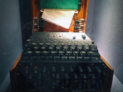 Mk1 Enigma machine