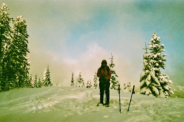 Pentax Program Plus - Bennett Pass snow shoe
