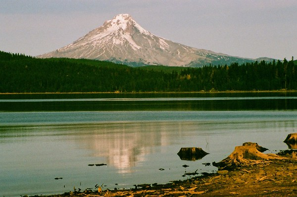 Pentax Program Plus - Mt Hood From Timothy Lake