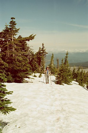 Mt Hood in Svema 125 - Vista Ridge to Dollar Lake
