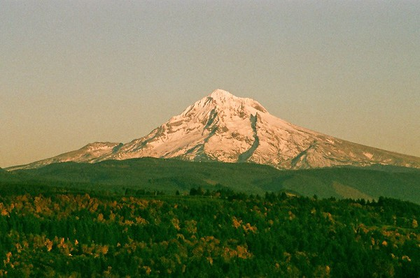 Pentax Program Plus - Mt Hood from Jonsrud Point