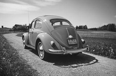 VW Käfer de Luxe 1200 (Baujahr 1961)