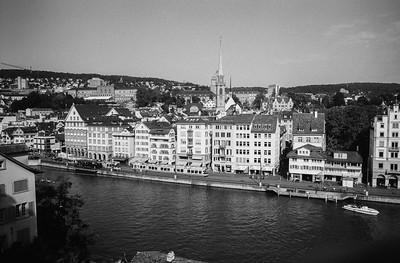Zürich, vom Lindenhof aus gesehen.