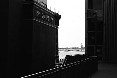 Staten Island Ferry Terminal II | Whitehall Street - Manhattan Lens: Nikkor 50mm f/1.4 Film: Kodak TRI-X iso400
