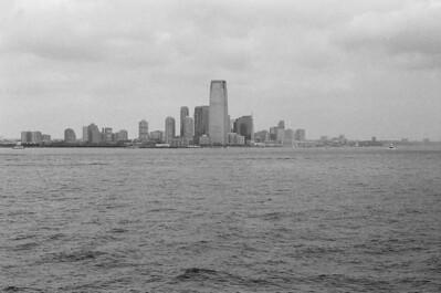 Jersey City | Aboard Staten Island Ferry Lens: Nikkor 50mm f/1.4 Film: Kodak TRI-X iso400