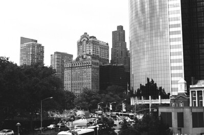 Battery Park |Manhattan Lens: Nikkor 50mm f/1.4 Film:  Kodak TRI-X iso400