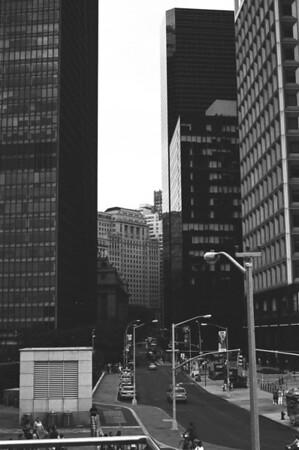 Staten Island Ferry Terminal III | Whitehall Street - Manhattan Lens: Nikkor 50mm f/1.4 Film: Kodak TRI-X iso400