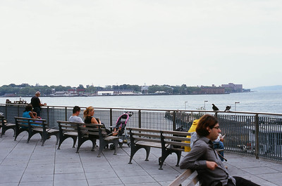 Whitehall Terminal (Staten Island Ferry) - Manhattan Lens: Nikkor 50mm f/1.8 Film: Fujichrome Velvia iso100