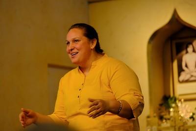 Lakshmi's First Talk at Sunday Service