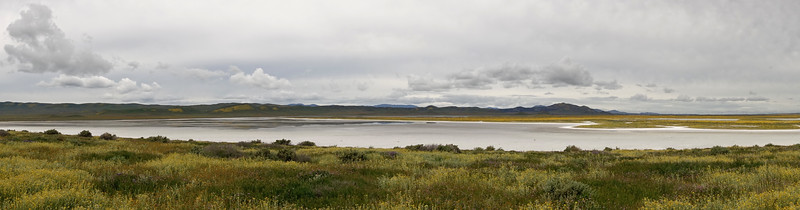 Soda Lake on an overcast day