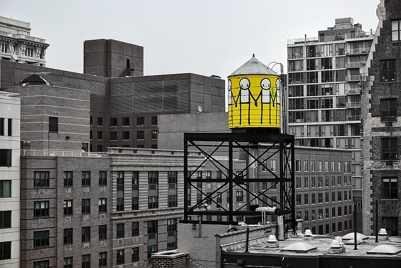 Water Tower, View from Union Square Hyatt, NYC