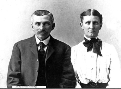 John Wilbert and Susan Bauman Kipp early years
