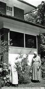 Louisa Scherer Bauman and sister Mary Scherer Bauman