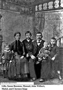 John Wilbert and Susan Bauman Kipp and family