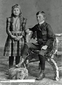 Minnie and Albert F Bauman