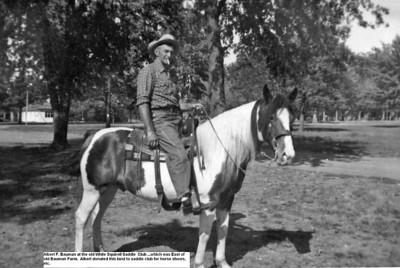 Albert F Bauman at White Squirrel Saddle Club