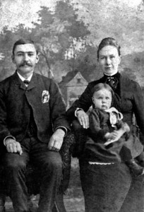 William Emerson Emily Amelia Yonaka and daughter Francis Bertha Kipp