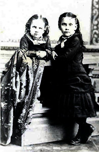 Mary Elizabeth Kipp and unknown girl