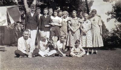 Reunion at Watertown SD 1937 B