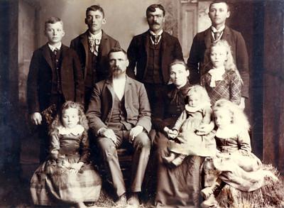 Hans Nelson Family