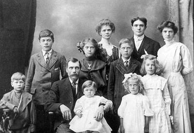 Nils Nordstrom Family