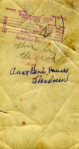 Dora Wheeler wife of Walt Wilcox   Unknown Eugenia Wilcox at her house Unknown Martha wife of Ed Wilcox at Flandreau SD BACK