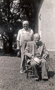 Ed and Fred Wilcox
