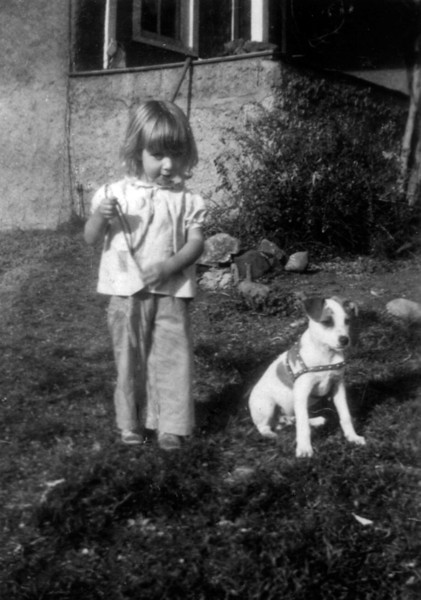 Earlene and dog