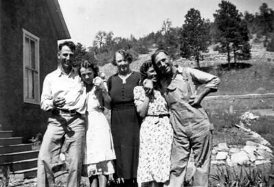 Bill Scholredt Mom Grandma Laura Dad