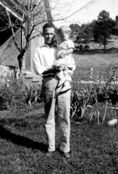 Wayne holding Mike