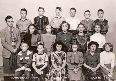 Tobylea and Jack Petera Class Photo 1949-50