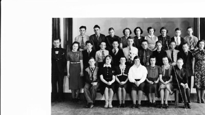 Uncie and Wayne Class Photo (1 of 1)