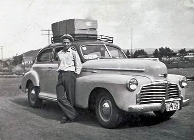 Wayne and 1942 Chevrolet