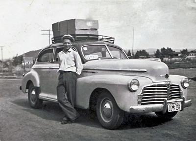 Wayne and 1942 Chevrolet