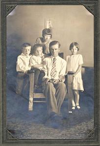 Curt Westbrook and siblings