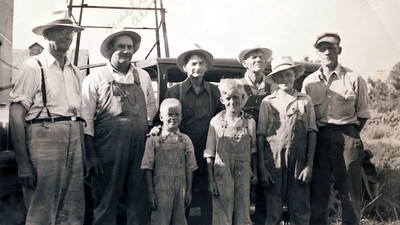 Louie Herman and Elmer and boys