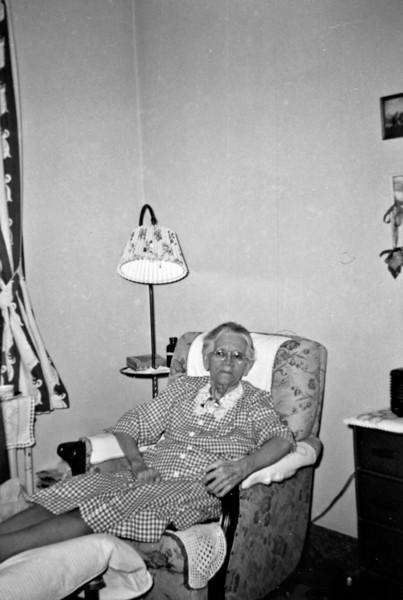 Aunt Lottie Dec 1956