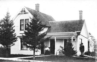 John Samuel Edyth Lottie Westbrook Arlington IA 1909