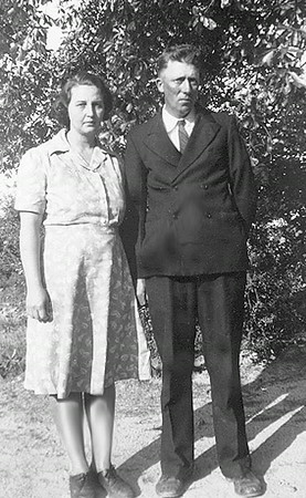Hubert and Cornelia Hutchins