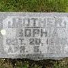 MOTHER; SOPHIA, OCT. 20, 1835; APR . 5, 1921; Fairview Cemetery, Kiester, Minnesota