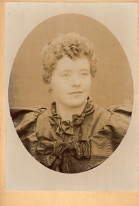 Clara Marie Anderson Lindquist - Abt. 1896