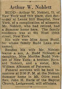 Arthur William Noblett obit402