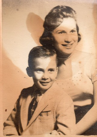 Alan and Carole c. 1957