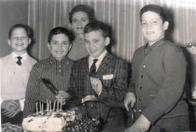 Walter Zebroski, Teddy Tennebaum, Frances, Alan, Albert Kritzstein