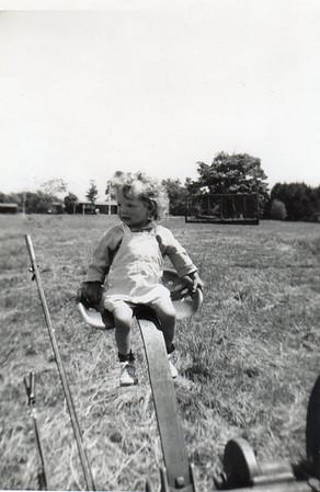 Margaret @ camp, c. 1950